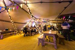 beautiful tipi interior