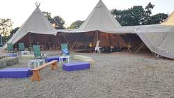 beautiful new triple tipi
